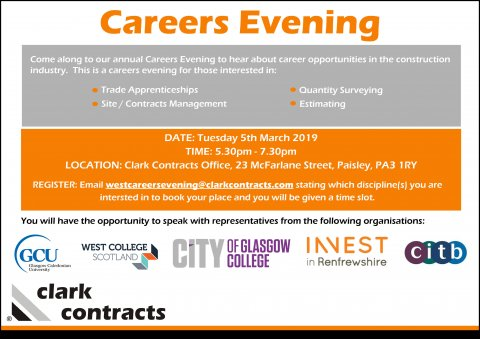 Clark Contracts Careers Evening 2019 Image(1.0)