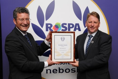 GMcK presented with RoSPA Award 2019(1.0)